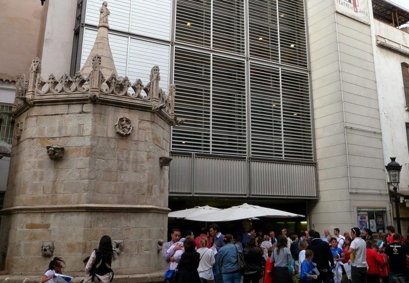 Un espectacle commemoratiu de Lorca inaugura el Teatre de la Costa Brava Sud