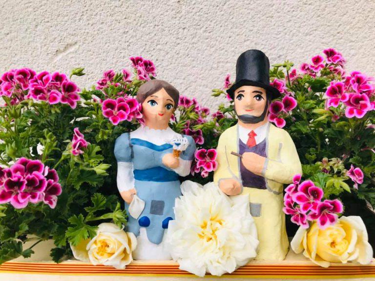 Les xarxes socials s'omplen de fotos per celebrar la Festa de les Flors 'des de casa'