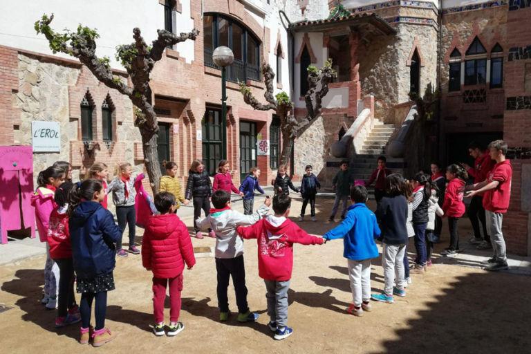 Els esplais de Lloret s'adapten a la pandèmia per seguir oferint activitats a infants i joves