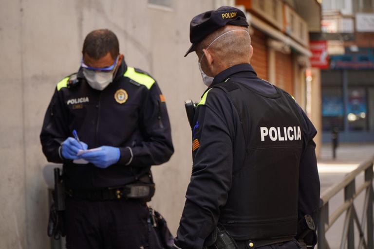 La policia posa 56 denúncies en el segon cap de setmana de confinament a Lloret de Mar
