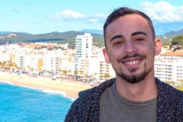 Álvaro Martín, primer secretari de les noves Joventuts Socialistes de La Selva