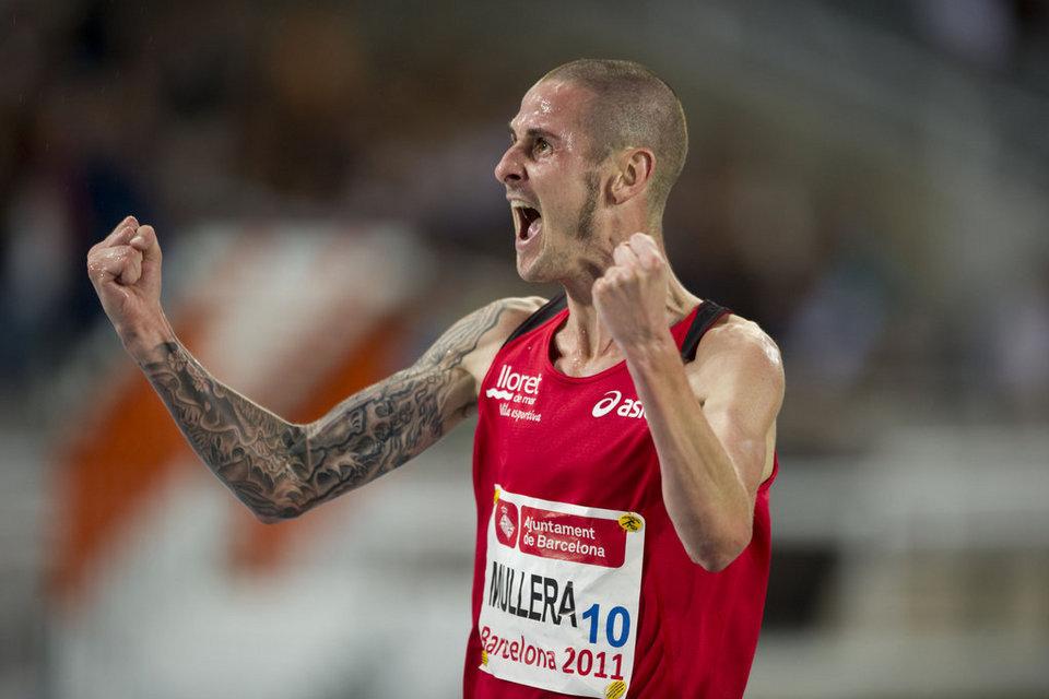 Mullera, entre els 15 finalistes europeus dels 3.000 metres obstacles