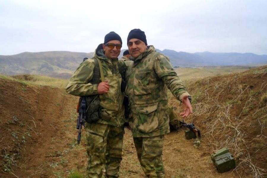 Armen Knyazyan amb Alexander Harutyunyan