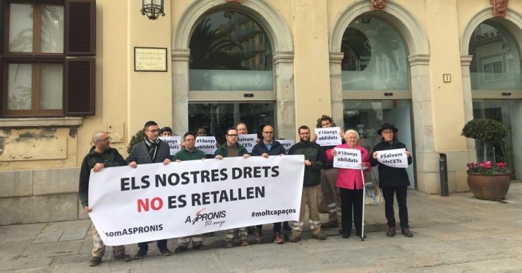 L'Ajuntament de Lloret es compromet a estudiar la petició d'Aspronis perquè s'aprovi una moció
