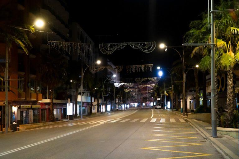 Alguna sanció i sense incidents destacables, arran del toc de queda a Lloret