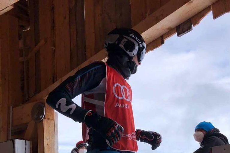Bernat Ribera accedeix per primera vegada a les semifinals d'una Copa d'Europa d'snowboard cross