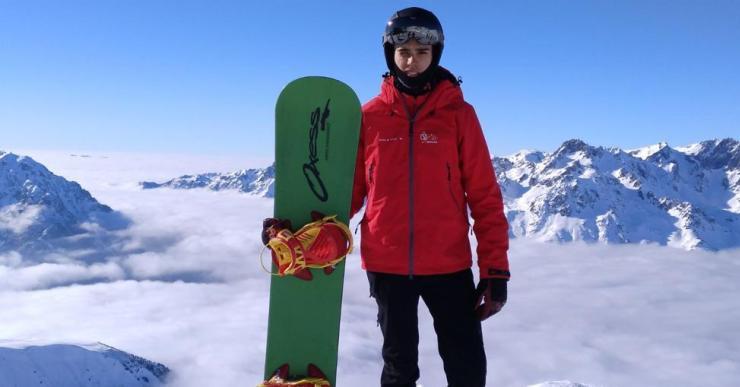 El lloretenc Bernat Ribera ha passat a formar part de la Federació Espanyola d'esports d'hivern