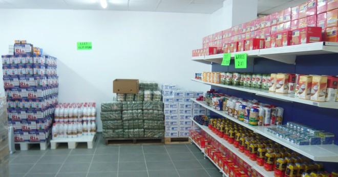 El Centre de Distribució d'Aliments va repartir 180 tones a 700 famílies el 2018