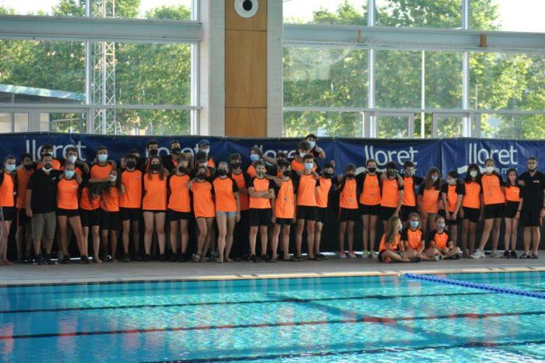 La piscina acull el trofeu dedicat a en Fusano, organitzat pel CN Lloret