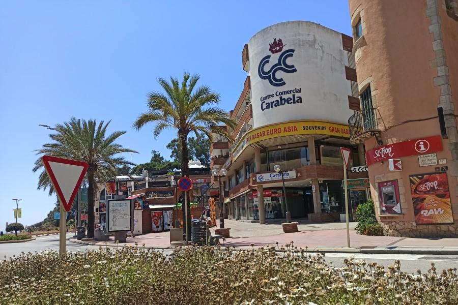 El centre comercial Carabela