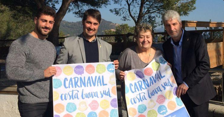El Carnaval de la Costa Brava Sud es presenta amb l'eslògan 'Que la festa t'acompanyi'