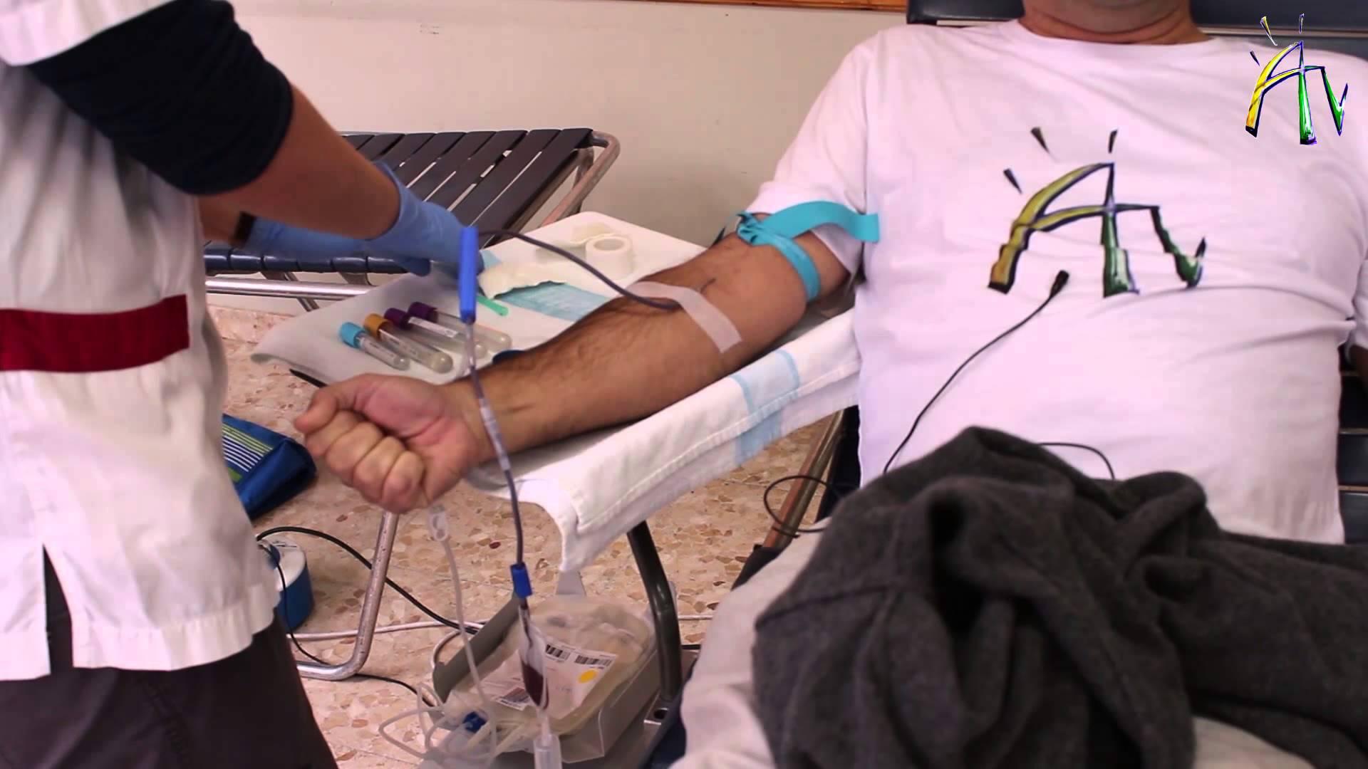 Crida perquè es doni sang, ja que les reserves estan baixes