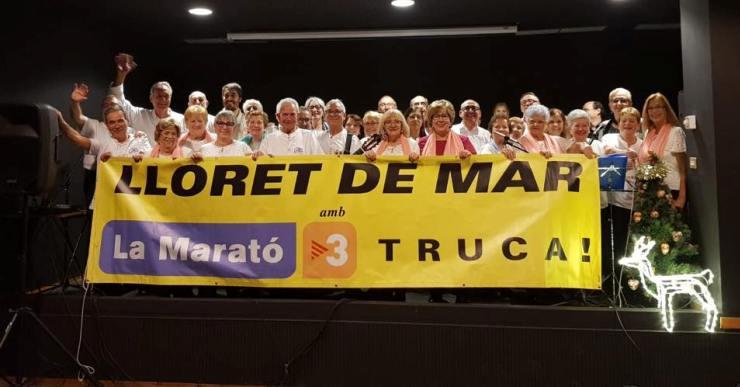 Lloret recapta més de 10.000 euros per la Marató i s'espera que la xifra encara creixi més
