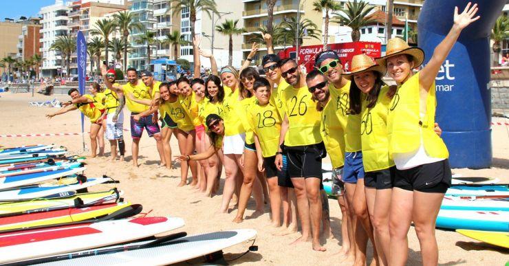 Un centenar de participants es preveuen a la 3a Costa Brava Sup Race de Lloret de Mar
