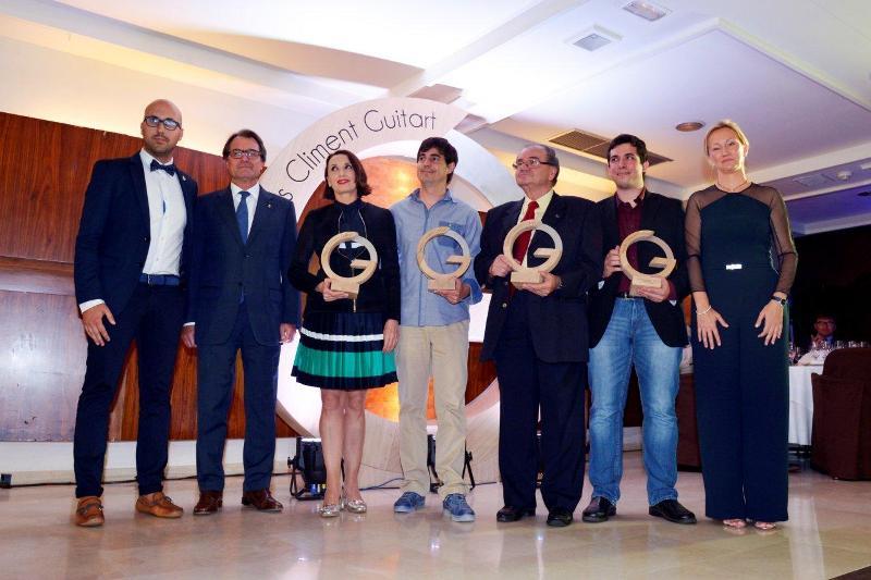 La cantant Luz Casal guanya la primera edició dels premis Climent Guitart