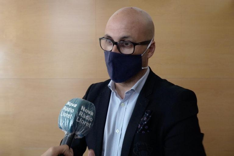 """Jaume Dulsat demana """"un esforç"""" als veïns de Lloret, davant les limitacions de mobilitat"""