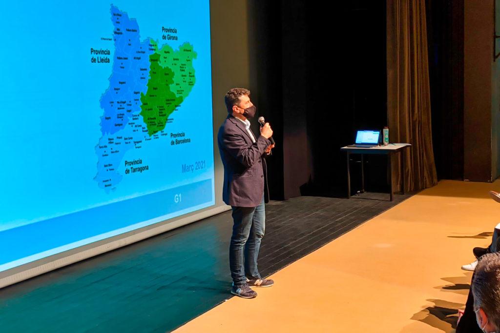 El regidor de promoció económica Jordi Orobitg a la jornada