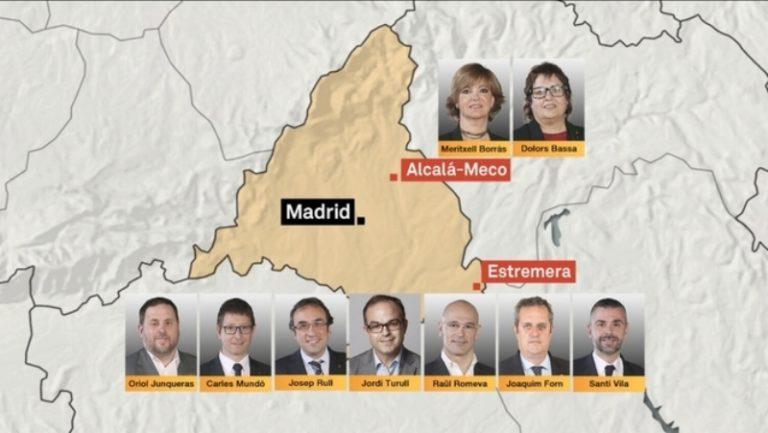 El CDR de Lloret demana la llibertat dels consellers empresonats i dels 'Jordis'