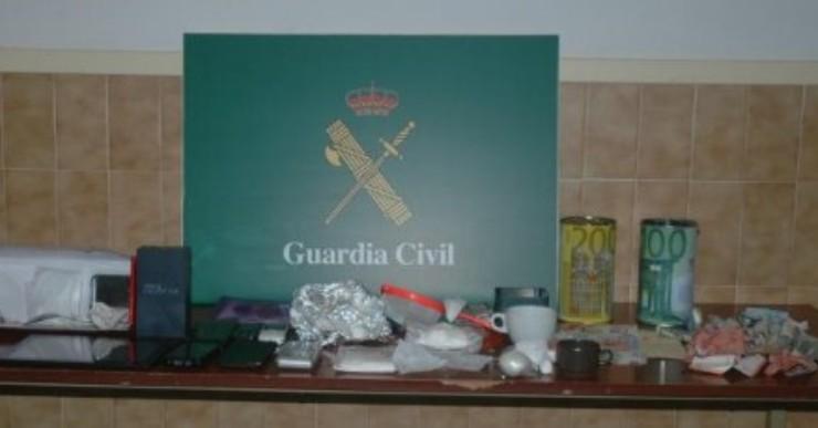 Desmantellat un important punt de venda de droga a Lloret de Mar