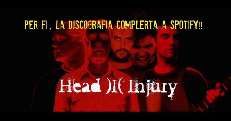 Head Injury penja la seva música a les plataformes digitals coincidint amb el 25è aniversari del grup