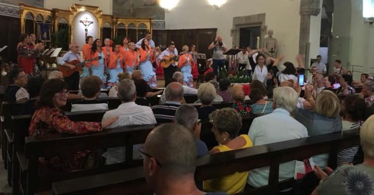Arriba la 2a trobada de 'coros rocieros' amb la Penya del Granà i la Casa Cultural de los Pueblos de Íllora