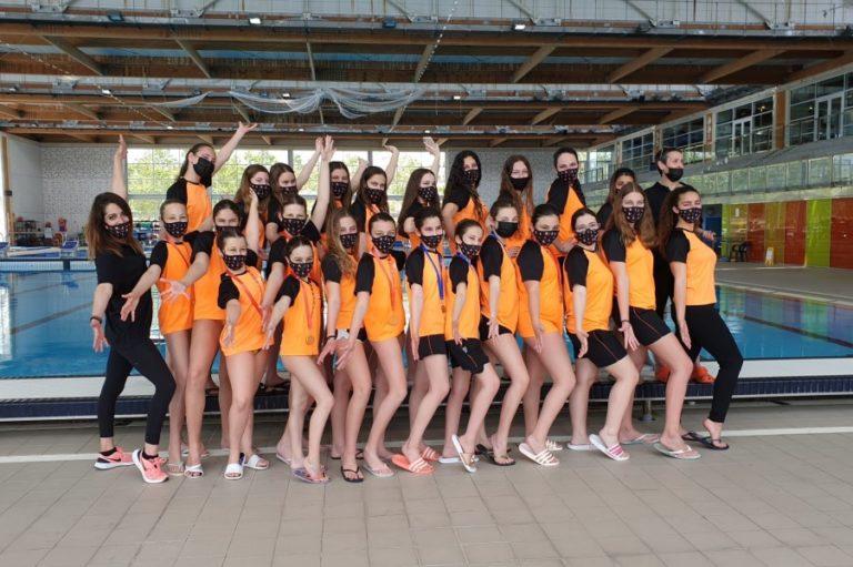 L'aleví del Club Natació Lloret guanya la Copa Catalana de natació artística