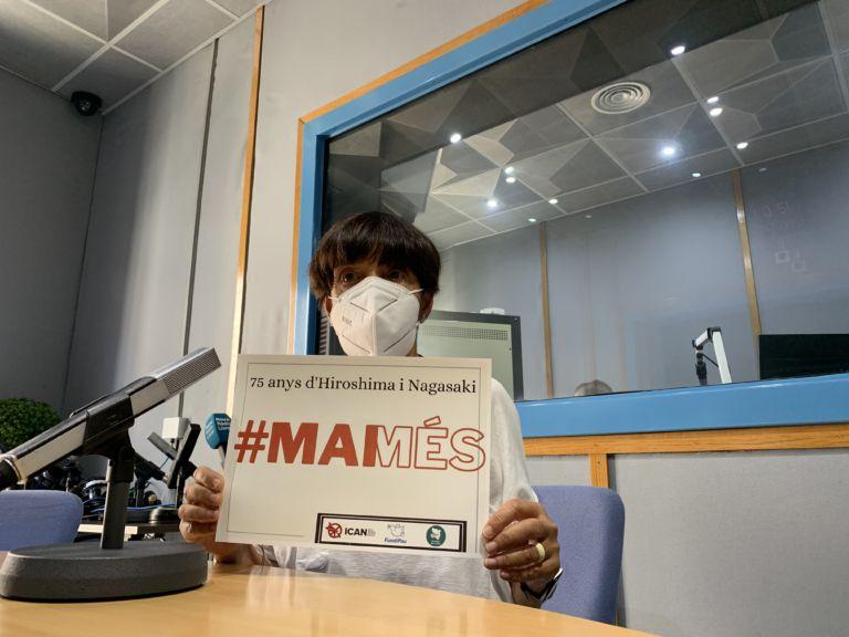 La Plataforma per la Pau fa una crida a prohibir les armes nuclears, amb la campanya #MAIMÉS