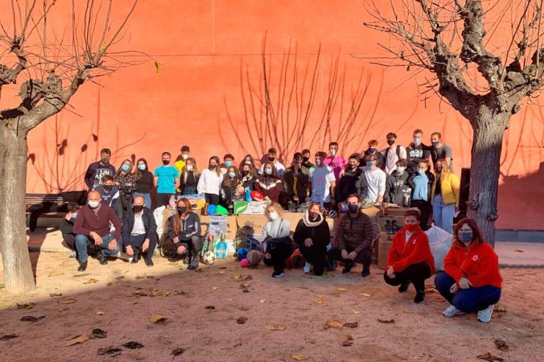 La campanya de recollida de material esportiu del Rocagrossa supera les expectatives