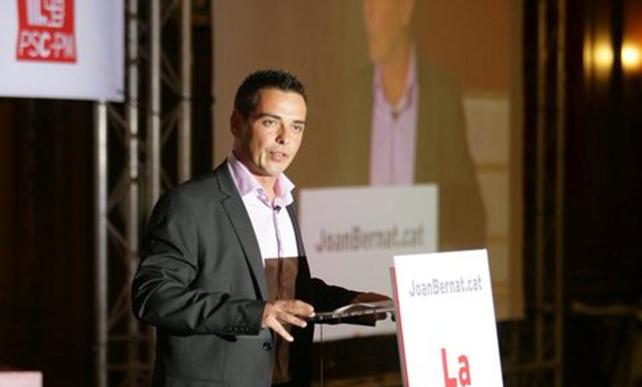 Joan Bernat no es presentarà a les primàries del PSC de Lloret