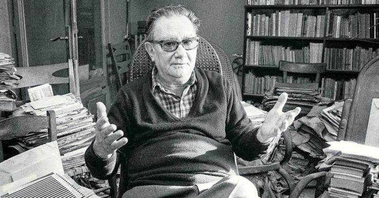 La biblioteca acull una xerrada sobre la relació de Joan Brossa amb Lloret de Mar