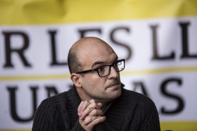 La CUP de Lloret organitza una concentració de suport a Joan Coma, el regidor de Vic detingut
