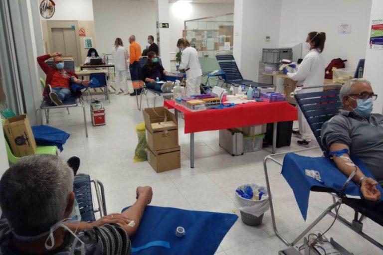 211 donants de sang participen de la campanya del passat dijous i divendres a la vila