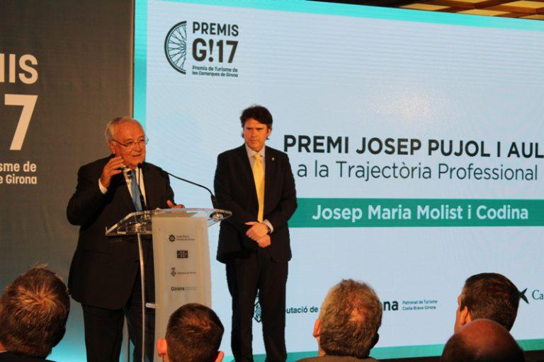 """Jaume Dulsat: """"la trajectòria de Molist i Evenia Hotels és un exemple a seguir"""""""