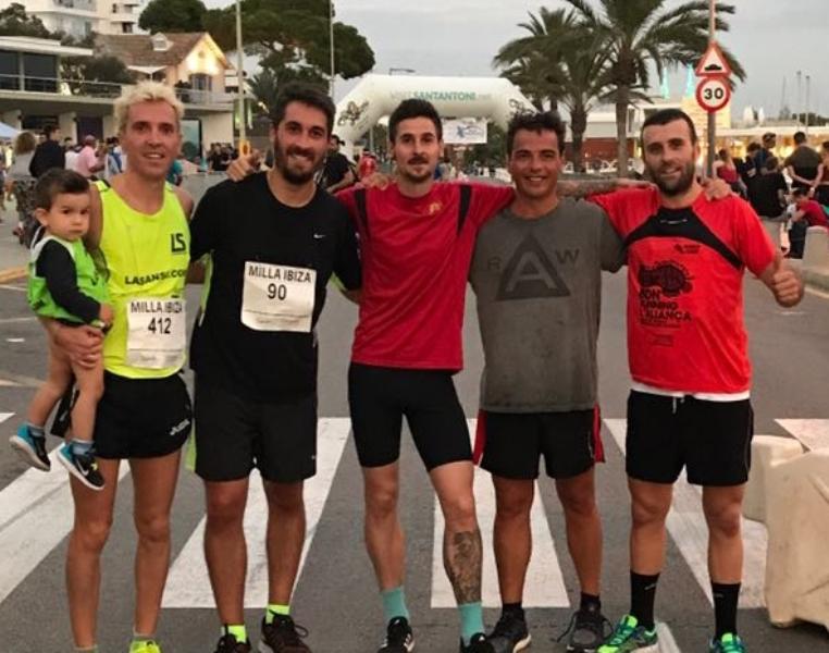 José Luís Blanco queda 5è en la prova dels cinc quilòmetres d'Eivissa
