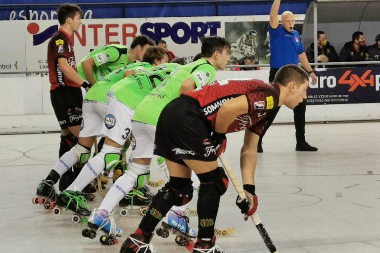 El Club Hoquei Lloret aconsegueix la primera victòria de la temporada