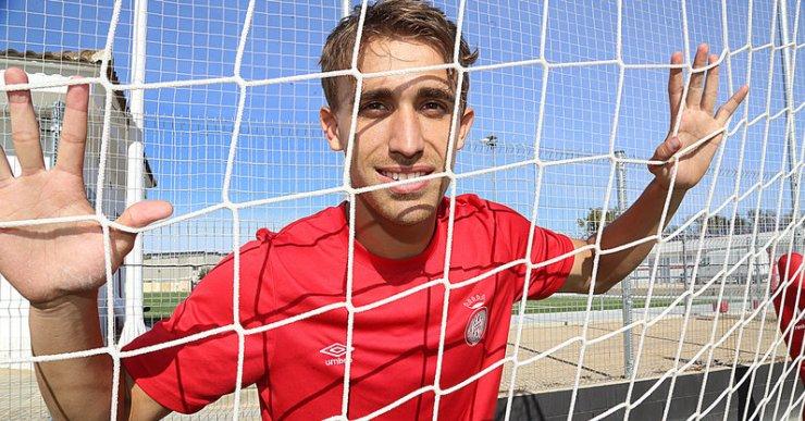 Marc Muniesa serà jugador del Girona si l'equip de Pablo Machín aconsegueix la permanència a Primera Divisió