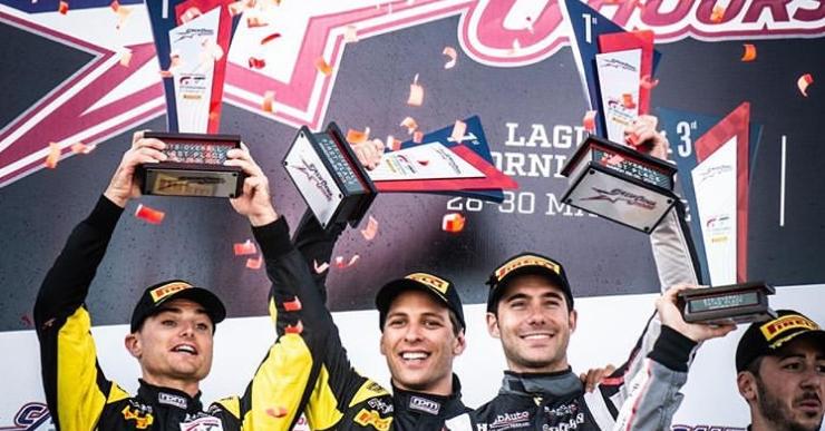 Miguel Molina, guanyador de les 8 hores de Califòrnia a l'Intercontinental GT Challenge