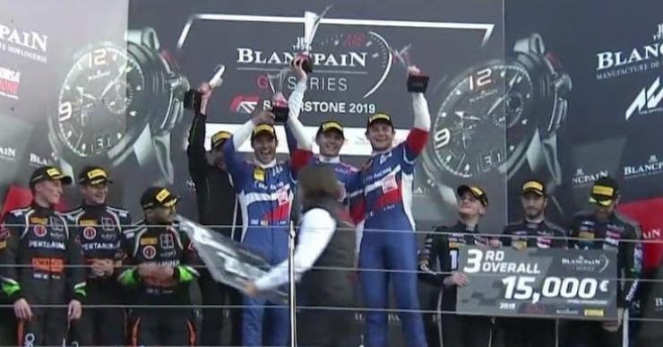 Miguel Molina, campió de les Blancpain Endurance amb el seu equip de Ferrari