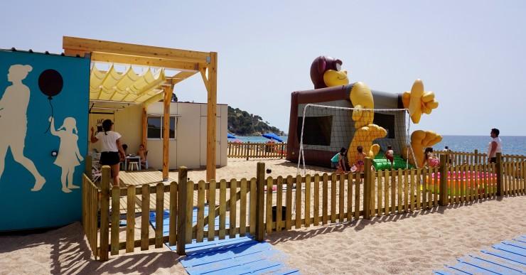 Les platges de Lloret i Fenals tornen a comptar amb les activitats que ofereix Lloret Turisme