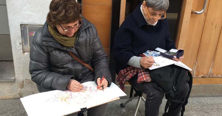 Montse Fando i Luís Muriel seran dos dels ponents a la 1r Weekend Sketchers de Lloret de Mar