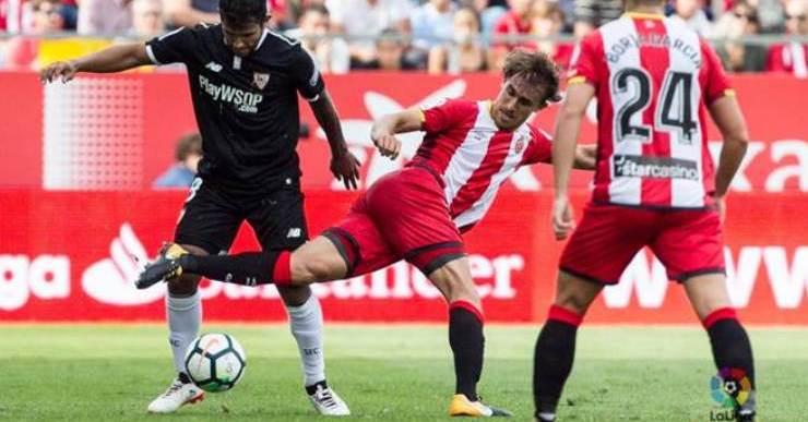 Gran partit de Marc Muniesa, que va contribuir a la victòria contra el Sevilla