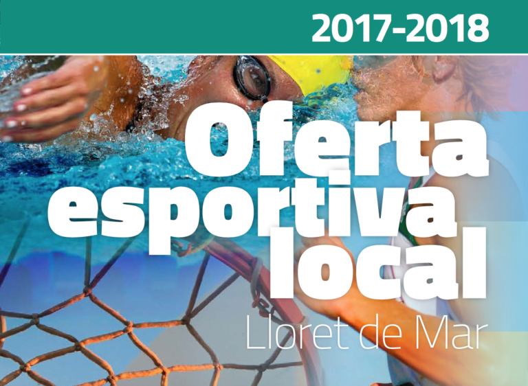 Ja es pot consultar en línia la nova oferta esportiva local del 2017-2018