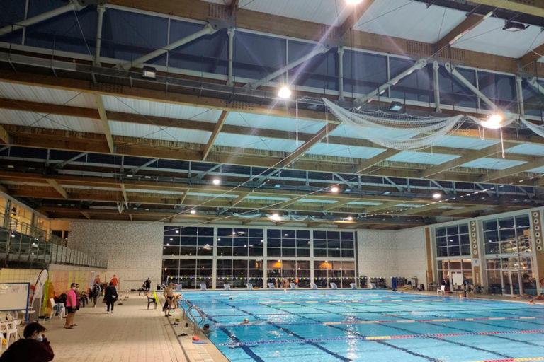 La Piscina de Lloret, seu del Campionat d'Espanya de Natació sincronitzada, del 12 al 15 de març