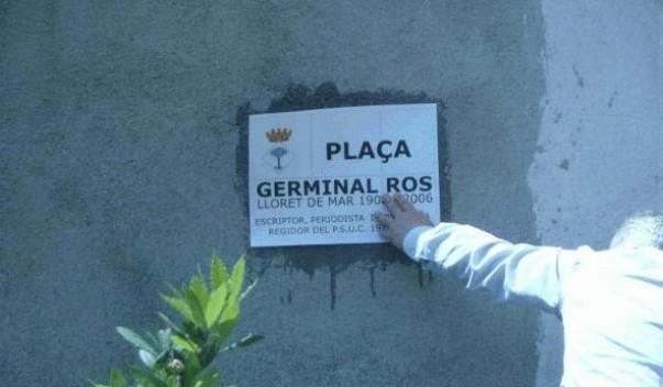 Aquest dissabte, s'inaugura la plaça Germinal Ros davant del teatre
