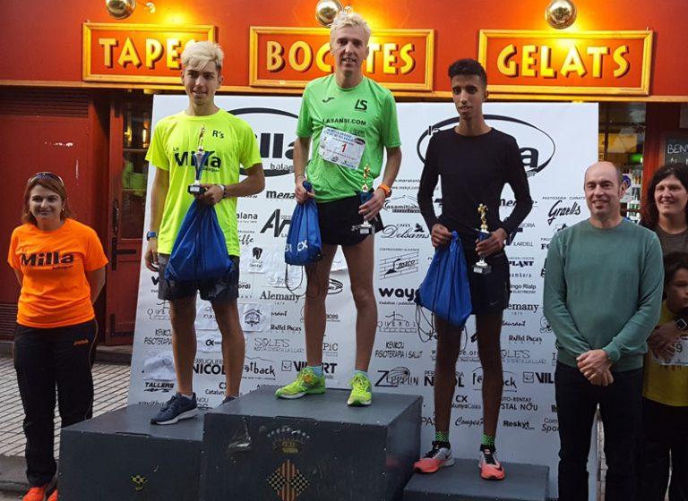 José Luis Blanco s'ha proclamat campió per quarta vegada de la Milla de Balaguer