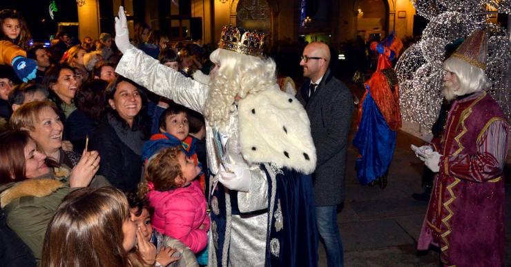 L'Ajuntament organitza un 'videomapping' per a l'arribada dels Reis d'Orient