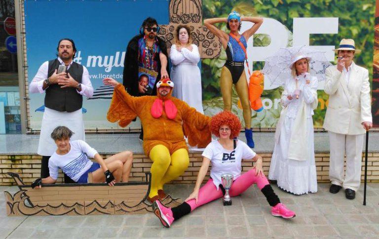 L'esperada sessió de fotos de #lasinfluencers, inspirades per la campanya 'Be A Lloretenc'