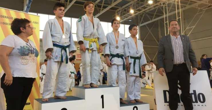 Vasilii Liseitsev, campió de la Supercopa Catalana de Judo en la categoria infantil de menys de 42 quilos