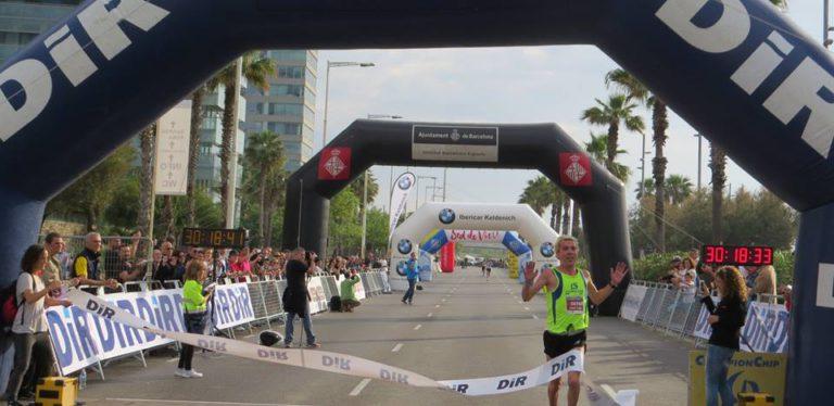 Blanco participa a la prova de 5 Km de la Cursa del DIR, aquest diumenge a Barcelona