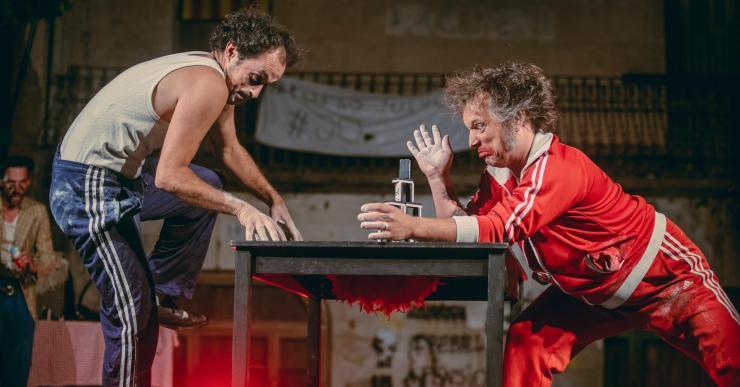 'Ye Orbayu', un xou de circ i humor gestual, al Lloret Outdoor Summer Festival